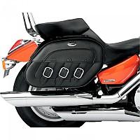 [해외]새들맨 Kawasaki VN900/2000 S4 Drifter Rigid Mount Specific Fit Quick Disconnect 9137476012 Black