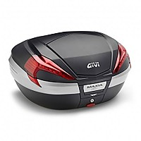 [해외]GIVI V56NN Maxia 4 Top Case Refurbished 9138288159 Black / Red