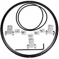 [해외]JW SPEAKER 101 Headlight Mounting Ring Kit 9137340970 Black