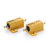 [해외]PUIG Resistors For LED Indicators 18ohms/25W 9138287054 Gold