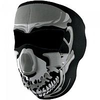 [해외]ZAN 헤드기어 Neoprene Full Face Mask 9137336834 Chrome Skull