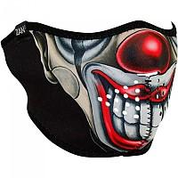 [해외]ZAN 헤드기어 Neoprene Half Face Mask 9137336930 Chicano Clown
