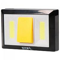 [해외]EDM 36440 200 Lumens LED Flashlight With Magnet Base 4138287855 Black