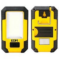 [해외]EDM COB 8W 900 Lumens Flashlight With Hook And Magnet 4138287894 Black / Yellow