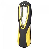 [해외]EDM LED 200 Lumens Flashlight With Hook And Magnet 4138287905 Black / Yellow