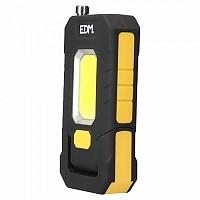 [해외]EDM XL 3W 300 Lumens LED Flashlight 4138287916 Black / Yellow