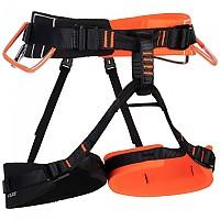 [해외]마무트 4 Slide Harness 4138002411 Vibrant Orange / Black