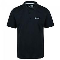 [해외]레가타 Maverick IV Short Sleeve Polo Shirt 4137029242 Black