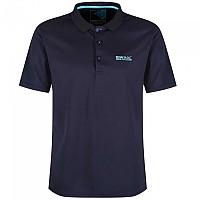 [해외]레가타 Maverick IV Short Sleeve Polo Shirt 4137029243 Navy / Surf Spray