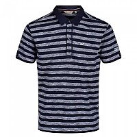 [해외]레가타 Macaulay Short Sleeve Polo Shirt 4137029244 White / Navy