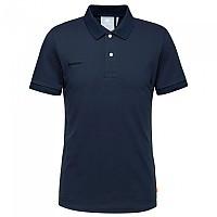 [해외]마무트 Logo Pique Short Sleeve Polo Shirt 4138002248 Marine