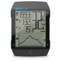 [해외]CUBE Race EVO Cycling Computer 1138283772 Black / Blue Metallic