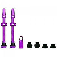 [해외]MUC OFF Tubeless Presta 80 mm Valves Kit 1138277948 Purple