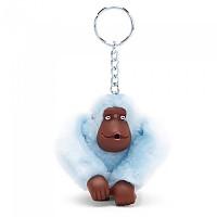 [해외]키플링 Monkey Clip M Key Ring 10 Units Fainted Blue Fur