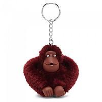 [해외]키플링 Monkey Clip M Key Ring 10 Units Dark Sangria Red