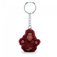 [해외]키플링 Monkey Clip XS Key Ring 10 Units Dark Sangria Red