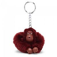 [해외]키플링 Monkey Clip S Key Ring 10 Units Dark Sangria Red