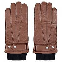 [해외]HACKETT Syon Knit Cuff Gloves Chestnut