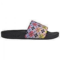[해외]아디다스 ORIGINALS Adilette Flip Flops Core Black / True Pink / Acid Yellow