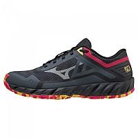 [해외]미즈노 Wave Ibuki 3 Trail Running Shoes 4138140733 Turbulence / Antarctica / RRed