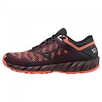 [해외]미즈노 Wave Ibuki 3 Trail Running Shoes 4138140734 Fudge / Obsidian / Coral