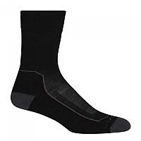 [해외]아이스브레이커 Hike+ Light Crew Socks 4138214962 Black / Monsoon / Mink