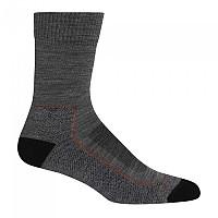 [해외]아이스브레이커 Hike+ Light Crew Socks 4138214963 Gritstone Heather / Black / Clay