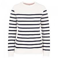 [해외]TRESPASS Chloe Sweater 4138295552 White Navy Stripe
