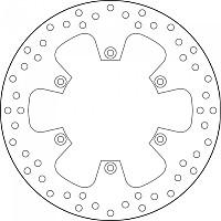 [해외]BREMBO 68B407F0 Rear Brake Disc 9138111460
