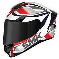 [해외]SMK Typhoon Thorn Full Face Helmet 9138243911 White / Red / Grey