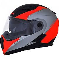 [해외]AFX FX-111 Modular Helmet 9138273106 Black / Red