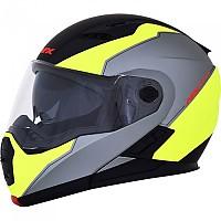 [해외]AFX FX-111 Modular Helmet 9138273108 Black / Yellow