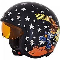 [해외]AFX FX-142Y Rocket Open Face Helmet Junior 9138273111 Black
