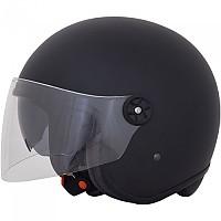 [해외]AFX FX-143 Open Face Helmet 9138273113 Black