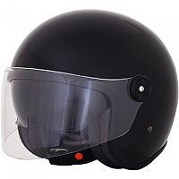 [해외]AFX FX-143 Open Face Helmet 9138273114 Gloss Black