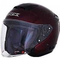 [해외]AFX FX-60 Open Face Helmet 9138273136 Dark Wine / Red
