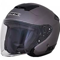 [해외]AFX FX-60 Open Face Helmet 9138273137 Frost Grey