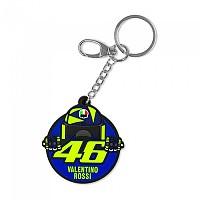 [해외]VR46 46 Valentino Rossi 20 Key Ring 9138200123 Multicolour