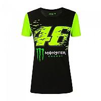 [해외]VR46 Monster Dual 20 Short Sleeve T-Shirt 9138200154 Black