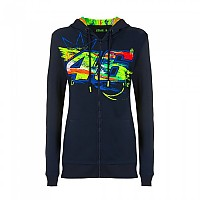 [해외]VR46 Valentino Rossi 20 Full Zip Sweatshirt 9138200205 Blue