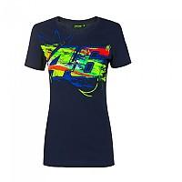 [해외]VR46 Valentino Rossi 20 Short Sleeve T-Shirt 9138200220 Blue