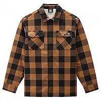 [해외]DICKIES Sherpa Sacramento Lined Shirt 9138164591 Brown Duck