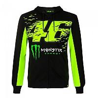 [해외]VR46 Monster 20 Full Zip Sweatshirt 9138200142 Black