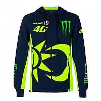 [해외]VR46 Monster Dual 20 Full Zip Sweatshirt 9138200150 Blue