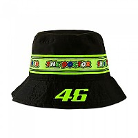 [해외]VR46 Valentino Rossi 20 Bucket Hat 9138200191 Black
