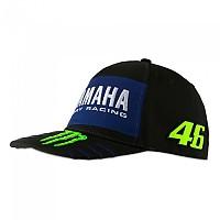 [해외]VR46 Yamaha Monster 46 20 Cap 9138200249 Black