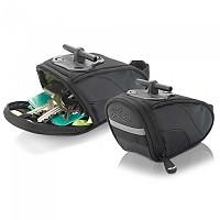 [해외]XLC Medium Ba S44 Tool Saddle Bag 1137289374 Black / Anthracite
