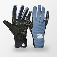 [해외]스포츠풀 Essential 2 Windstopper Long Gloves 1138205734 Blue Sea Black
