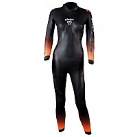 [해외]펠프스 Pursuit 2.0 4 mm Refurbished Long Sleeve Long Trisuit 1138308094 Black / Bright Orange