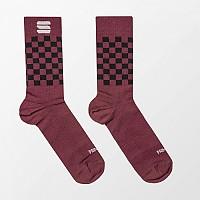 [해외]스포츠풀 Checkmate Winter Socks 1138205711 Red Wine Black